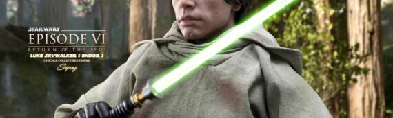 HOT TOYS – Luke Skywalker ROTJ Sixth Scale Figure dévoile sa version de production