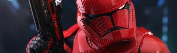 HOT TOYS – La version de production du Sith Trooper Sixth Scale Figure