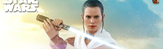 HOT TOYS – The Rise of Skywalker Rey & D-O Collectible Set