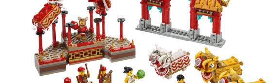 LEGO – 80104 La danse du Lion et 80105 La foire du temple