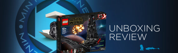 [Mintinbox opens the Box] LEGO Star Wars 75256 Kylo Ren Shuttle