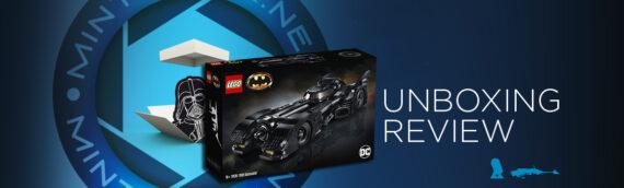 [Mintinbox opens the Box] LEGO BATMAN 76139 – 1989 Batmobile
