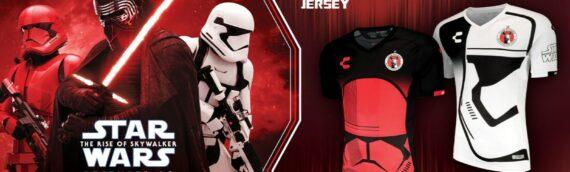 Charly & Star Wars : Les maillots du club de foot de Tijuana aux couleurs de l'épisode IX