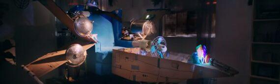 Globe/Create With Love : Une petite séance de cinéma 5D home made !