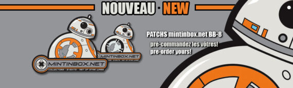 MINTINBOX : Le patch BB-8 disponible à la vente