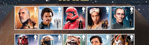 Royal Mail – Une nouvelle série de timbres Star Wars