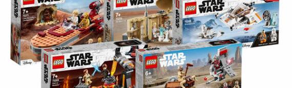 LEGO – Quoi de neuf en LEGO Star Wars Classic en 2020 ?