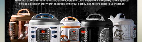 Instant Pot : Des autocuiseurs aux couleurs des personnages de Star Wars