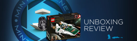 [Mintinbox opens the Box] LEGO Star Wars 75248 Resistance A-Wing Starfighter