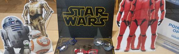 OPAL : Des montures pour lunettes aux couleurs de la saga.