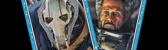 TOPPS – Star Wars Living Set: Le Général grievous (53) et Saw Gerrera (54)