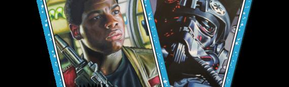 TOPPS – Star Wars Living Set: Finn (55) et le TIE Pilot (56)