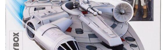 Disney/Toybox : Nouveau set avec le Faucon millenium