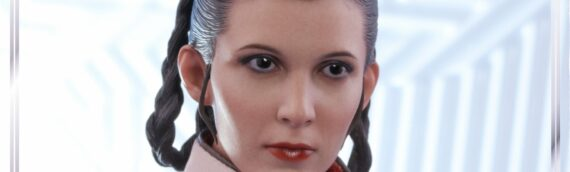HOT TOYS – Photos de production final de Leïa version Bespin