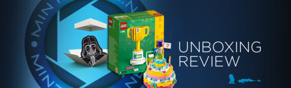 [Mintinbox opens the Box] LEGO 40385 Trophy & LEGO 40382 Birthday Cake