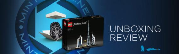 [Mintinbox opens the Box] LEGO Architecture 21052 Dubaï Skyline