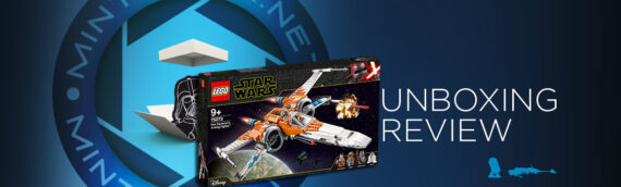 [Mintinbox opens the Box] LEGO Star Wars 75273 X-Wing de Poe Dameron