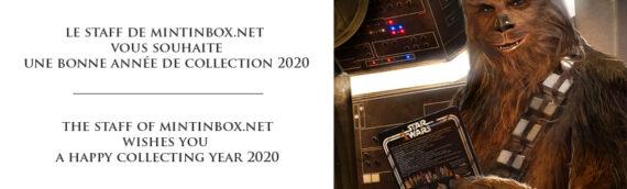 Le Staff de MINTINBOX vous souhaite une bonne année de collection 2020