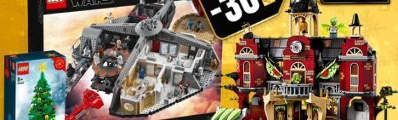 LEGO – Le Black Friday continue avec -30% sur le set Star Wars Cloud City