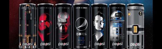 PEPSI – Des canettes aux couleurs de The Rise of Skywalker en Chine