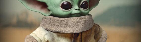 """MATTEL dévoile une peluche de """"Baby Yoda"""" 11 pouces"""