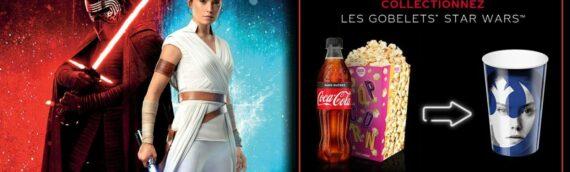 Pathé Gaumont : Des gobelets offerts avec le menu gourmand
