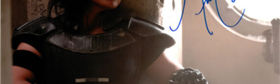 Star Wars Authentics : Photos dédicacées de Gina Carano et Omid Abtahi