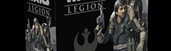 Fantasy Flight Games/Legion : Extension Cassian Andor et K-2SO