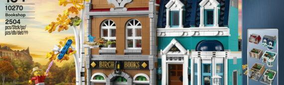 LEGO CREATOR – 10270 Librairie