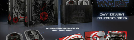 Star Wars The Rise of Skywalker – Zavvi dévoile son coffret Bluray Exclusif