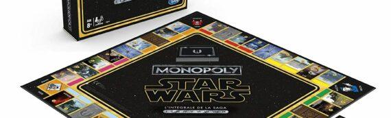 Monopoly – Star Wars l'intégrale de la saga