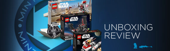 [Mintinbox opens the Box] LEGO Star Wars Micro Series début 2020
