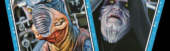 TOPPS-Star Wars Living Set : Watto et Darth Sidious sont les deux cartes de la semaine