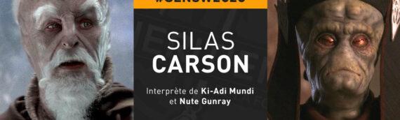 Générations Star Wars & Sci-fi 2020 – Silas Carson en premier invité