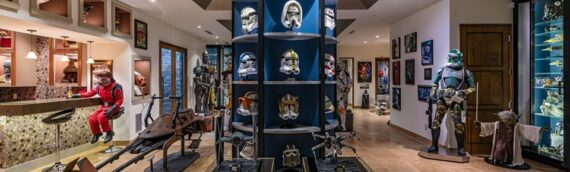 Un manoir et sa collection Star Wars en vente à Los Angeles