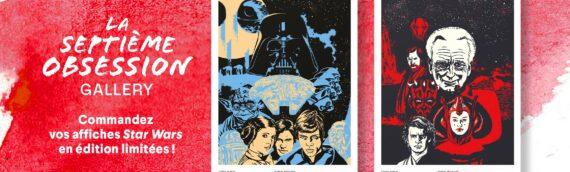 La Septième Obsession : Trois affiches Star Wars