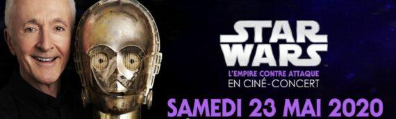Ciné Concert à Marseille : Anthony Daniels en dédicace le 23 Mai 2020