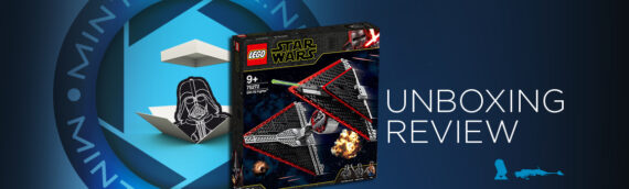 [Mintinbox opens the Box] LEGO Star Wars 75272 Sith TIE Fighter