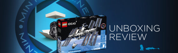 [Mintinbox opens the Box] LEGO IDEAS 21321 International Space Station