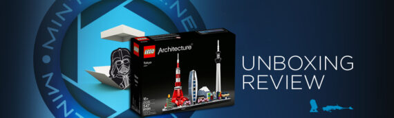 [Mintinbox opens the Box] LEGO Architecture 20151 Tokyo Skyline
