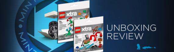 """[Mintinbox opens the Box] LEGO XTRA 40376 """"accessoires de botanique"""" et 40375 """"accessoires de sport"""""""