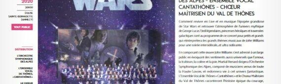 Annecy : Un concert symphonique Star Wars dans une église