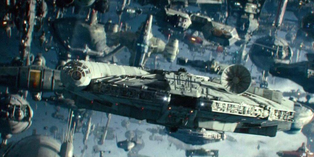 Des milliers de vaisseaux arrivent sur Exegol