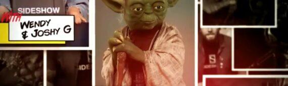 SIDESHOW LIVE: Un Live sur la statuette Lifesize de Yoda et d'autres superbes produits.