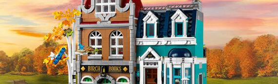 LEGO – Creator Expert 10270 Bookshop est disponible en ligne