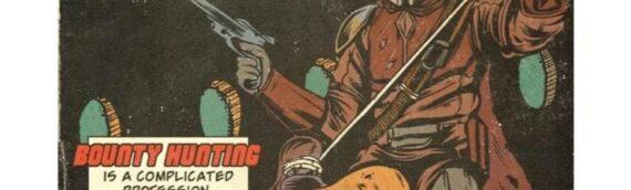 Artwork/The Mandalorian :  Couverture comics vintage des 8 épisodes