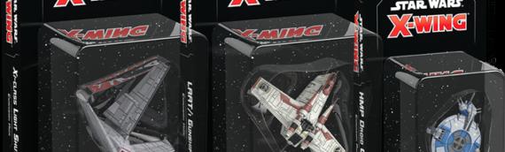 Fantasy Flight Games – Xwing : 3 Nouveaux vaisseaux