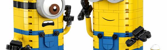 """LEGO profite du Toy Fair de new York pour dévoiler sa nouvelle licence """"Les Minions"""""""