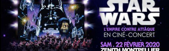 Ciné-concert: L'empire contre attaque à Montpellier le 22 Février 2020
