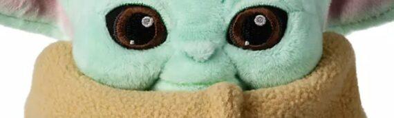 DisneyStore : La peluche de Baby Yoda disponible pour le 24 Avril